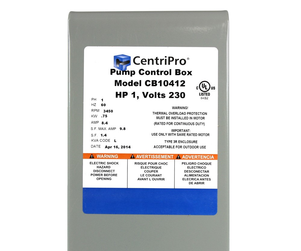 CB10412 1HP 230V Control Box