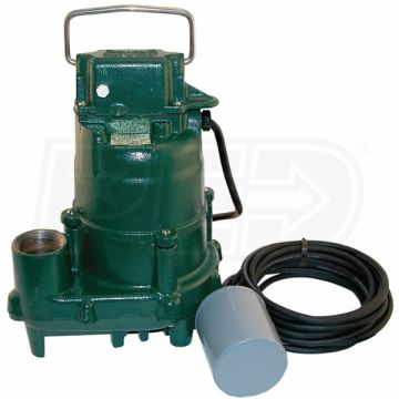 BN152 Zoeller 4/10HP Effluent Pump with Float