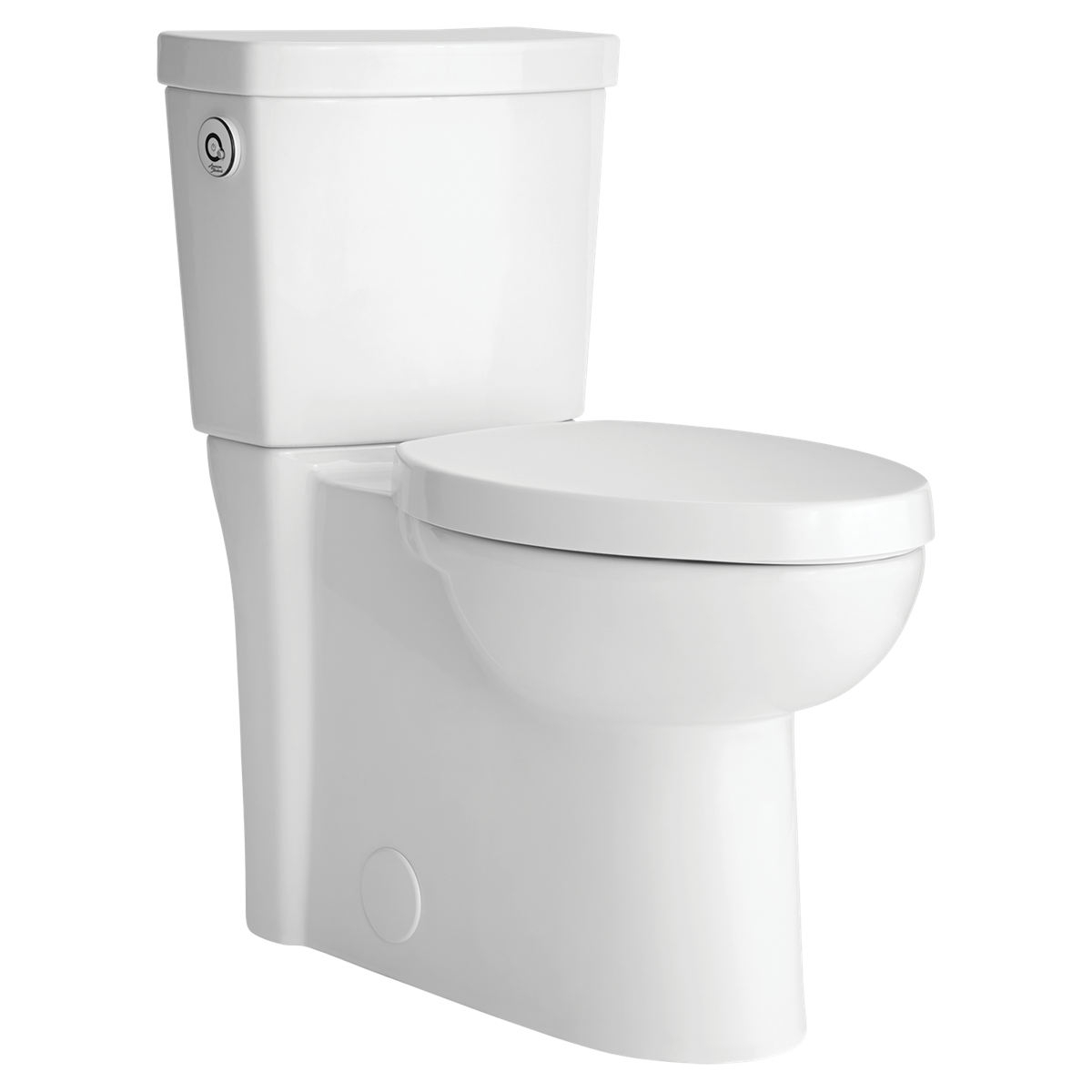 Studio Activate Concealed Trapway Right Height Round Front Toilet