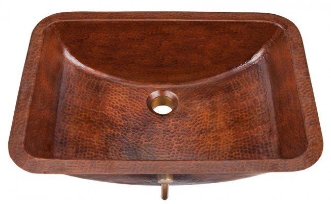Black Copper Starr Bath Sink