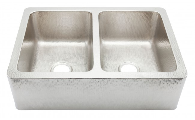Corniglia Hammered Stainless Steel Sink