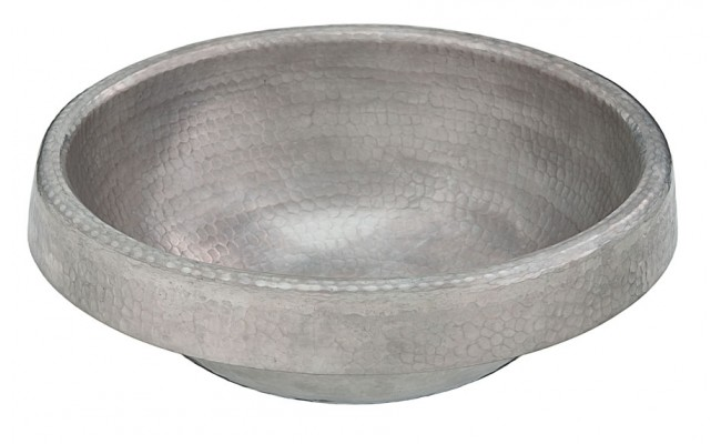 Metropoli Hammered Nickel Bath Sink