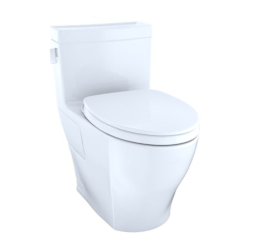 Legato One-Piece Toilet, 1.28GPF, Elongated Bowl - WASHLET   Connection