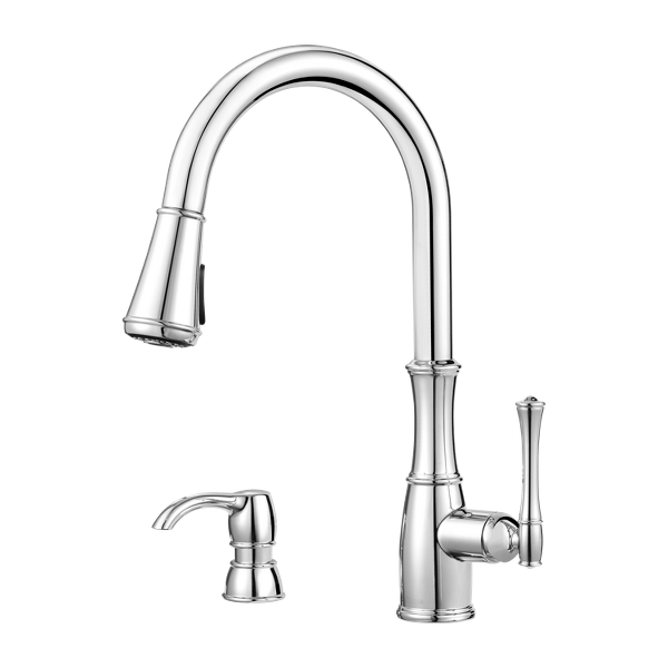 Wheaton 1-Handle Pull-Down Kitchen Faucet